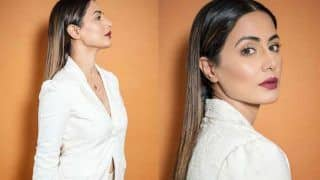 Hina Khan's Bossy Avatar in All White Power Suit at The Screening of Hacked is Beyond Imagination
