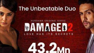 Hina Khan Thanks Fans For Praising 'Damaged 2' as it Crosses Over 43 Million Views