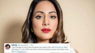 KRK Trolls Hina Khan by Asking 'Who Will Watch Hacked', She Gives a Befitting Reply