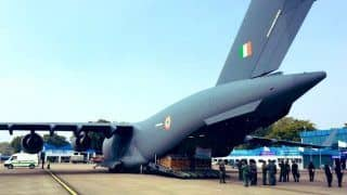 Coronavirus Outbreak: Indian Air Force Flight Leaves For Wuhan With 15 Tonnes of Medical Supplies