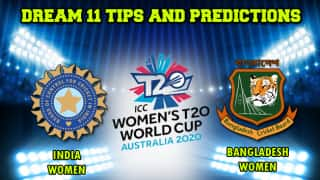 Dream11 Team India vs Bangladesh, Cricket IN-W vs BD-W ICC Women   s T20 World Cup, Match 6