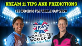 ICC Women   s T20 World Cup 2020 Dream11 Team Prediction India vs New Zealand