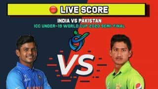 Live score: IND U19 vs PAK U19, ICC U19 World Cup, Semi-Final