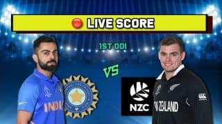 Highlights, India vs New Zealand 1st ODI: Centurion Ross Taylor Helps New Zealand Snap Losing Streak, Blackcaps Win 1st ODI By 4 Wickets