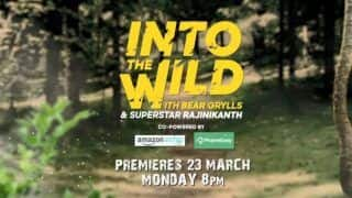 Bear Grylls Reveals Episode Date And Time of 'Into The Wild' With Rajinikanth- Watch New Teaser