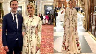 Donald Trump's Daughter Ivanka Trump Wears a Rohit Bal Anarkali at The Royal Dinner - Viral Photos