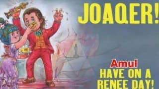 Oscars 2020: Amul Pays Tribute to Joaquin Phoenix For Joker With Cute Doodle