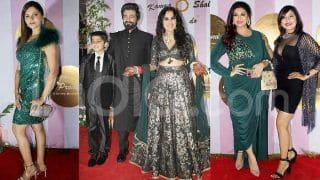 Kamya Punjabi-Shalabh Dang's Wedding Reception: Rubina Dilaik, Vahbiz Dorabjee, Parag Desai And Other TV Stars Have Fun