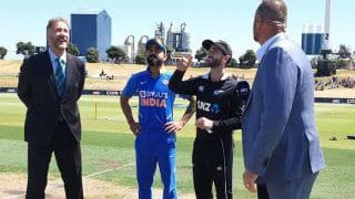 India vs New Zealand, 3rd ODI Toss: Kane Williamson Returns as New Zealand Opt to Bowl First; Manish Pandey Replaces Kedar Jadhav