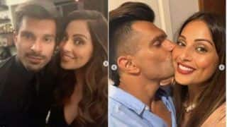 Bipasha Basu and Karan Singh Grover Swipe Hearts With PDA-Filled Photo