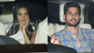 Rumoured Couple Kiara Advani-Sidharth Malhotra Clicked Together Outside Karan Johar's House