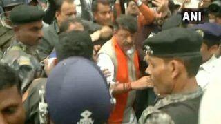 Kolkata: Police Detains Mukul Roy, Kailash Vijayvargiya in BJP's Pro-CAA Rally in Tollygunge