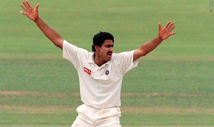 On This Day: Anil Kumble Perfect 10 Hands India First Test Win Over  Pakistan in 19 Years   India.com