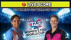 LIVE SCORE, T20 World Cup, India vs New Zealand: Despite Shafali Verma's Early Blitz, India Limp to 133/8 vs NZ