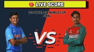 Under-19 World Cup 2020 Final Highlights, India U19 vs Bangladesh U19: Bangladesh beat India to lift maiden ICC U-19 Cricket World Cup Trophy