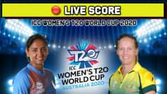 Live: IND vs AUS, Women   s T20 World Cup: India Lose Verma, Mandhana After Brisk Start
