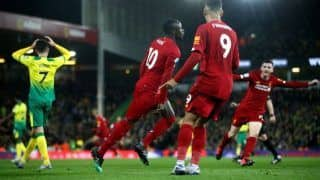 EPL: Sadio Mane Rescues Liverpool With Late Goal Against Norwich City