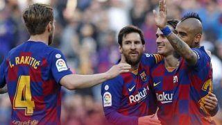La Liga: Messi Scores Hat-Trick as Barcelona Rout Eibar 5-0