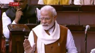 'Unprecedented Peace in Northeast,' Claims PM Modi in Rajya Sabha as Opposition Charge of Unrest