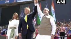PM नरेंद्र मोदी ने डोनाल्ड ट्रंप से कहा- विश्व के सबसे बड़े लोकतंत्र में आपका स्वागत है