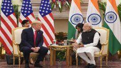दिल्ली के हैदराबाद हाउस में PM नरेंद्र मोदी और डोनाल्ड ट्रंप के बीच द्विपक्षीय वार्ता, कई बड़े समझौते होंगे