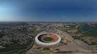 BCCI Shares Stunning Bird's Eye View of Ahmedabad's Motera Stadium