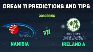Dream11 Team Prediction NAM vs IR-A, NAM vs IR-A ODIs, Match 2: Captain And Vice-Captain, Fantasy Cricket Tips Namibia vs Ireland A Irene Villagers Cricket Club Ground, Pretoria 1:30 PM IST