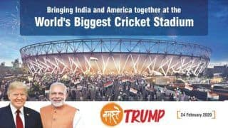 Howdy Modi Versus Namaste Trump: Best of Luck, Texas Team Wishes Ahmedabad