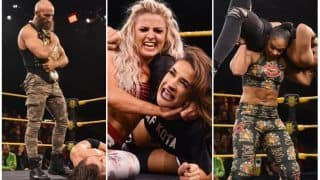 WWE NXT Results, February 13: Tensions Boil Over as Adam Cole and Tomasso Ciampa, Rhea Ripley and Bianca Belair Face Off Before Portland