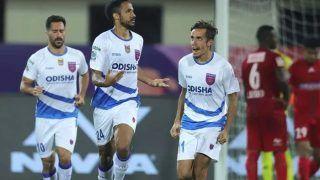 ISL 2019-20: Odisha FC Comeback to Beat NEUFC 2-1, Keep Play-off Hopes Alive