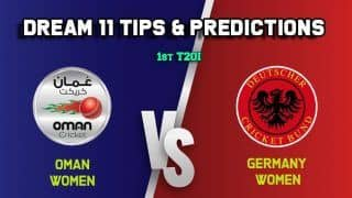 OMN-W vs GR-W Dream11 Oman Women vs Germany Women, 1st T20I – Cricket Prediction Tips For Today's Match OMN-W vs GR-W at Al Amerat Cricket Ground Oman Cricket (Ministry Turf 1) February 4