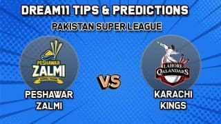 PSL Dream11 Team Prediction Peshawar Zalmi vs Lahore Qalandars