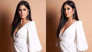 Katrina Kaif is a Vision in Sexy White Dress as She Attends Beauty Awards in Mumbai