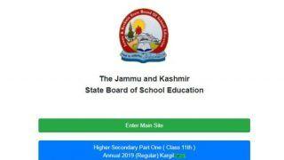 JKBOSE ने जारी किया कक्षा 11वीं के कारगिल डिवीजन का रिजल्ट, ऐसे करें चेक