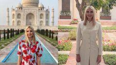 ट्रंप की बेटी इवांका ने शेयर की भारत दौरे की सभी तस्वीरें, ताज महलसे राष्ट्रपति भवन तक का रहा ख़ूबसूरत सफ़र