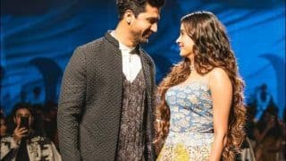 Janhvi Kapoor-Vicky Kaushal's Striking Impressions at Lakme Fashion Week Break Internet