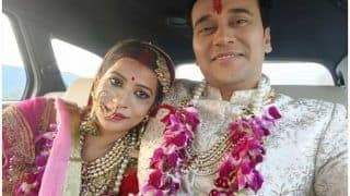 'ये हैं मोहबब्तें' एक्टर अनुराग शर्मा ने की 5 साल रिलेशनशिप में रहने के बाद गर्लफ्रेंड नंदिनी गुप्ता से शादी, देखें Unseen Videos