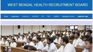 पश्चिम बंगाल: स्वास्थ्य विभाग में इन पदों पर निकली बंपर वैकेंसी, जल्दी करें आवेदन