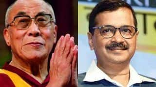 दिल्ली चुनाव में आप की जीत पर दलाई लामा ने दी केजरीवाल को बधाई