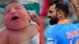 टीम इंडिया के स्टार पेसर मोहम्मद शमी के घर गूंजी किलकारियां, ट्वीट कर साझा की खुशखबरी