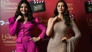 Kajal Aggarwal Becomes First South Indian Actress to Unveil Her Wax Statue at Madame Tussauds Singapore, Fans Gush Over Emotional Note