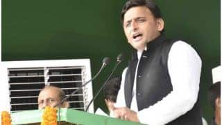 'Facing Threat From a BJP Leader,' Claims Akhilesh Yadav After Youth Interrupts His Speech at Rally