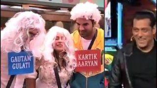 Bigg Boss 13: Paras Chhabra as Kartik Aaryan, Sidharth Shukla as Gautam Gulati Leave Salman Khan in Splits as They Romance Shehnaz Gill | Watch