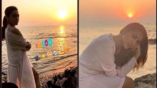 Sara Ali Khan's Hot Pictures From Goa in Sultry Satin Dress Makes Fans go Weak in Knees