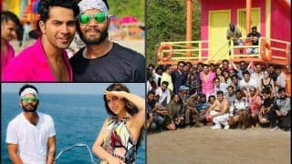 Sara Ali Khan-Varun Dhawan's Quirky Pictures Flood Internet as Coolie No. 1 Shoot Wraps up in Goa