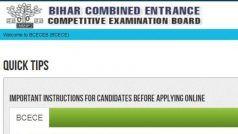 BCECEB 2020 Online Application: आज से भरा जाएगा Bihar Combined Entrance का फॉर्म, ऐसे करें रजिस्ट्रेशन