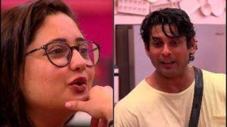 Bigg Boss 13: Sidharth Shukla Flirts With Rashami Desai, Latter Can't Stop Blushing | Watch