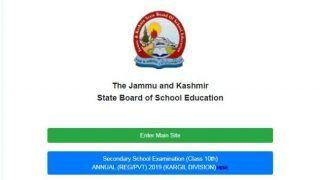 JKBOSE ने कक्षा 10वीं के करगिल डिवीजन का रिजल्ट किया जारी, इस प्रोसेस से करें चेक