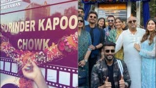Arjun Kapoor Goes All Emotional as he Unveils Grandfather Surinder Kapoor's Chowk in Chembur
