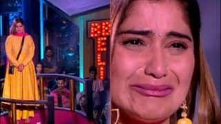 Bigg Boss 13: Arti Singh Tears up Before Live Audience After Being Lauded For Playing Her Game Independently